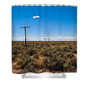 Old Route 66 #5 Shower Curtain