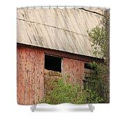 Old Rugged Barn #4 Shower Curtain
