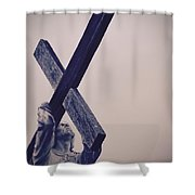Old Rugged Cross Shower Curtain