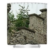Old Ruins Shower Curtain