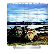 Old Sailors Shower Curtain