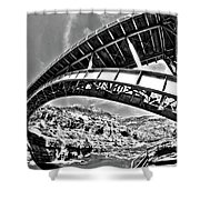 Old Salt River Bridge - Arizona Shower Curtain