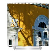 Old San Juan # 5 Shower Curtain