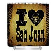 Old San Juan Shower Curtain