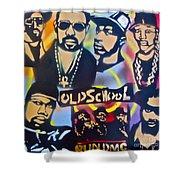 Old School Hip Hop 3 Shower Curtain