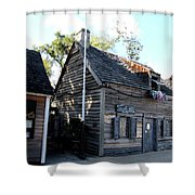 Old School House - St Augustine Shower Curtain