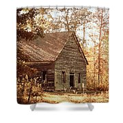 Old Church - Vintage Shower Curtain