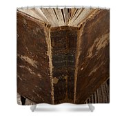 Old Shakespeare Book Shower Curtain by Garry Gay