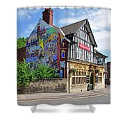Old Silk Mill - Derby Shower Curtain