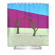 Old Soldiers Shower Curtain