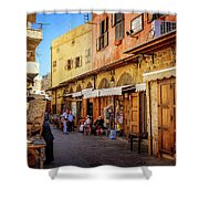 Old Souk Of Sidon Shower Curtain