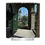 Old St. Augustine Shower Curtain