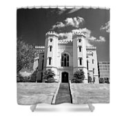 Old State Capital - Infared Shower Curtain