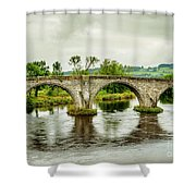 Old Stirling Bridge Shower Curtain