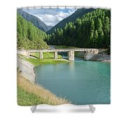 Old Stone Bridge Shower Curtain
