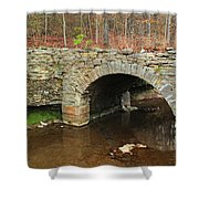 Old Stone Bridge In Illinois 1 Shower Curtain