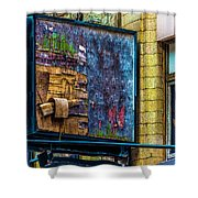 Old Store Sign Pittsburgh Pennsylvania V4 Dsc0917 Shower Curtain