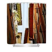 Old Street In Nice Shower Curtain