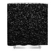 Old T V Snow Shower Curtain