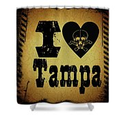 Old Tampa Shower Curtain
