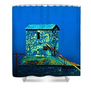 Old Texas Mill Shower Curtain