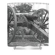 Old Time Cannon Shower Curtain