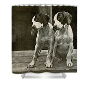 Old Time Photo Shower Curtain