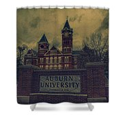 Old Time Samford Hall Shower Curtain