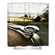 Old Timer 3 Shower Curtain
