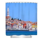 Old Town Rovinj Shower Curtain
