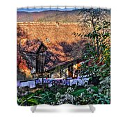 Old Town, Sighisoara Shower Curtain