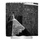 Old Town Walls Shower Curtain