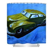 Old Toy Car Shower Curtain