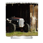 Old Tractor 2 Shower Curtain