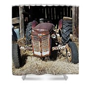Old Tractor 4 Shower Curtain