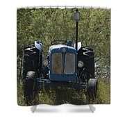 Old Tractor 6 Shower Curtain
