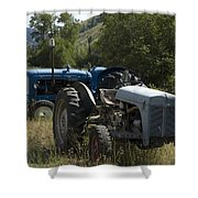 Old Tractor 7 Shower Curtain