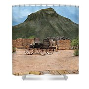 Old Tucson Shower Curtain