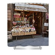 Old Tuscan Deli Shower Curtain