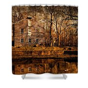Old Village - Allaire State Park Shower Curtain