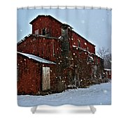 Old Warehouse Shower Curtain