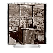 Old Well Bodie Ghost Twon California Shower Curtain