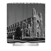 Old West End Our Lady Queen Of The Most Holy Rosary Cathedral II Shower Curtain