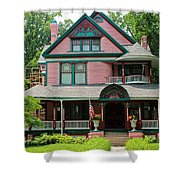 Old West End Pink 2 Shower Curtain