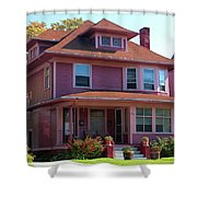 Old West End Pink 5 Shower Curtain