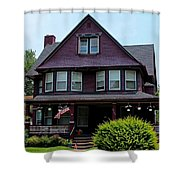 Old West End Purple 1 Shower Curtain