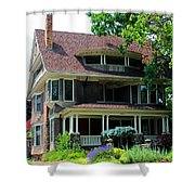 Old West End  Purple 4 Shower Curtain