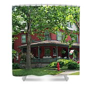 Old West End Red 2 Shower Curtain