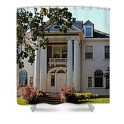 Old West End White 1- II Shower Curtain
