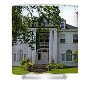 Old West End White 1 Shower Curtain